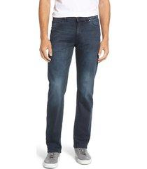 men's dl1961 avery modern fit straight leg jeans, size 38 x 32 - blue