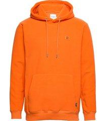 piece fleece hoodie hoodie trui oranje les deux
