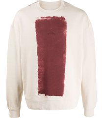 a-cold-wall* paint roller-print sweatshirt - neutrals