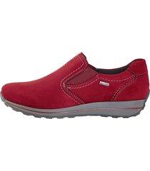 skor ara röd