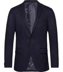 nos pique and constructed blazer blazer colbert blauw scotch & soda