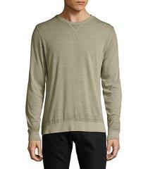burnout crewneck sweatshirt