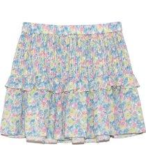 ignacia skirt in rainbow blast