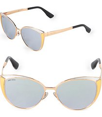 domi 56mm butterfly sunglasses