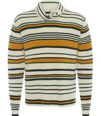 jw anderson tie-collar jumper - yellow