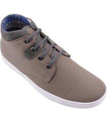 zapato botín street line alfa gris cobre