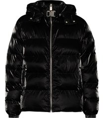 1017 alyx 9sm nightrider padded jacket - black