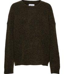nora knit sweater gebreide trui groen holzweiler