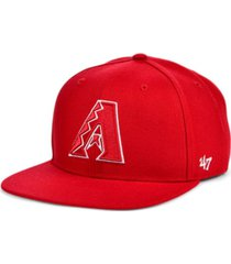 '47 brand arizona diamondbacks colors no shot captain cap
