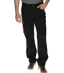 pantalón hombre ag cargo trouser algodón negro cat