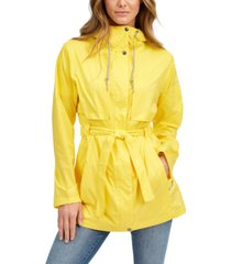 columbia women's pardon my trench water-resistant rain jacket