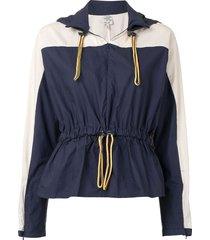 baum und pferdgarten bonetta hooded jacket - blue