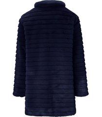 jas met staande kraag van uta raasch blauw