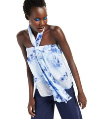 inc twisted halter blouse, created for macy's