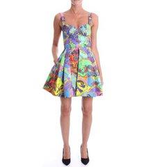 korte jurk versace d2hza405 s0825