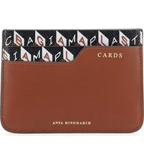 anya hindmarch i am a plastic bag card holder