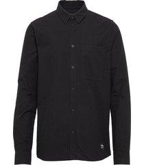 dale shirt overhemd casual zwart dr. denim