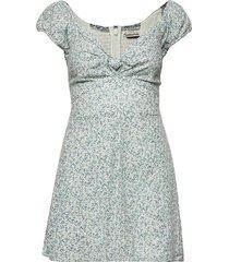 anf womens dresses kort klänning blå abercrombie & fitch