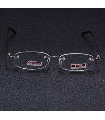 occhiali da lettura senza montatura