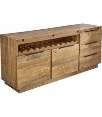komoda szafka finca drewno piniowe 175cm