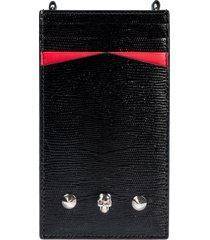 alexander mcqueen portable iphone case with chain