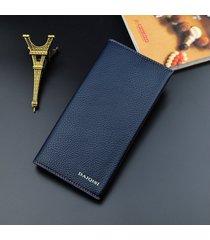 billetera mujeres- cartera de hombre, cartera de hombre-azul