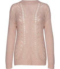 bella kass knit stickad tröja rosa bruuns bazaar