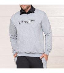 buzo concept gris para hombre croydon