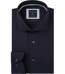 overhemd profuomo donkerblauws strijkvrij