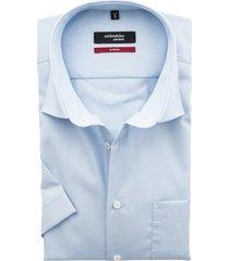 seidensticker korte mouw shirt lichtblauw non iron