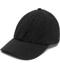 a-cold-wall* logo print baseball cap - black