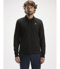 polo in piquet di cotone stretch