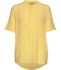 frjaslub 4 shirt blouses short-sleeved gul fransa