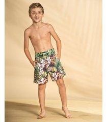 masculino swimwear pantaloneta azul leonisa 555010