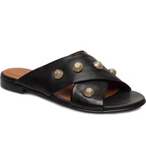 sandals 4143 shoes summer shoes flat sandals svart billi bi