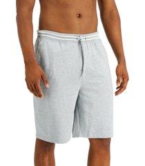 club room hawthorne striped-waist pajama shorts, created for macy's