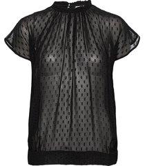 day sound blouses short-sleeved svart day birger et mikkelsen