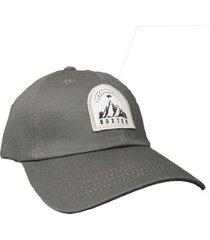 gorra gris buxter cap harden