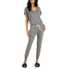women's n:philanthropy space deconstructed jumpsuit, size small - grey