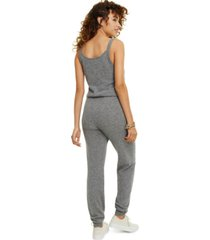 charter club sleeveless cashmere jumpsuit, created for macy's