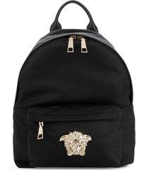 versace medusa palazzo backpack - black