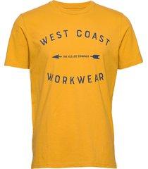 star seasonal graphi t-shirts short-sleeved gul lee jeans