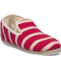 striped slippers ''''maoutig'''' loafers låga skor röd armor lux