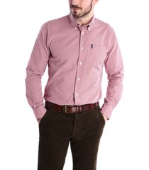 barbour men's tailored gingham shirt