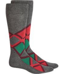 alfani men's argyle socks, created for macy's