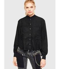 camisa diesel c-super-e feminina