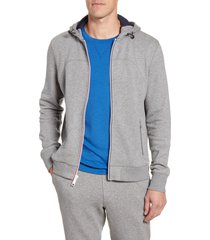 men's fourlaps rush hoodie, size small - grey