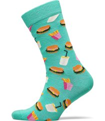 hamburger sock underwear socks regular socks grön happy socks