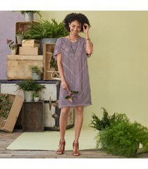 sundance women's violette dress in amethyst petite 2xs