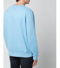 polo ralph lauren men's fleece sweatshirt - blue lagoon - xxl